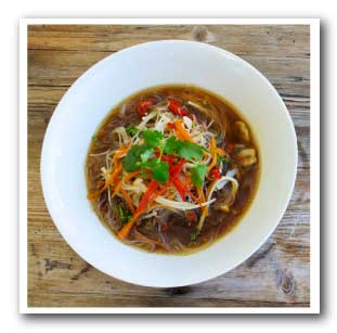 Delicious Bone Broth Pho (Vietnamese Noodle Soup)