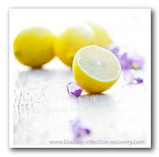 Lemons can be great for preventing bladder infections and are easily grown in your own backyard in many countries