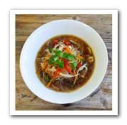 Delicious Bone Broth Pho (Vietnamese Noodle Soup